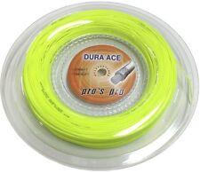 110 m Pros Pro Hochleistungs Saite DURA ACE neon-gelb für Squash Schläger/Racket