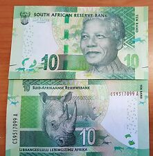 New South Africa R10 banknote Featuring NELSON MANDELA note 2012 money - UNC