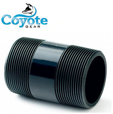 "Coyote Gear 10 Pack Lot 2"" NPT x 3-1/2"" Long PVC Schedule 80 Pipe Nipple Thread"