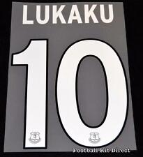 Everton Lukaku 10 Europa League Football Shirt Name Set Third Player Size