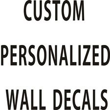 Custom Personalized Wall Decal Stickers Wall Decals Art Home Decor Kids Boys DIY