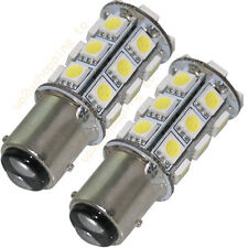 2 x T25/S25 1157 BAY15D White 24 5050 SMD LED Car Stop Tail Brake Light Bulb N