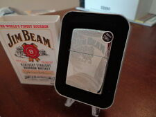 JIM BEAM KENTUCKY STRAIGHT BOURBON WHISKEY BARRELS ZIPPO LIGHTER MINT IN BOX
