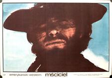 Fremder ohne Namen Clint Eastwood Poster Polen High Plains Drifter Freudenreich