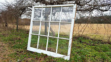 VINTAGE SASH ANTIQUE WOOD WINDOW PICTURE FRAME PINTEREST WEDDING 12 PANE 40X40
