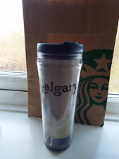 NEW Rare Starbucks Tumbler Mug Cup from Calgary