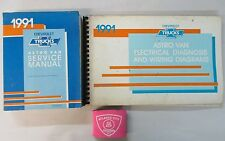 1991 CHEVROLET ASTRO VAN SERVICE SHOP MANUAL WITH ELECTRICAL & WIRING DIAGRAMS