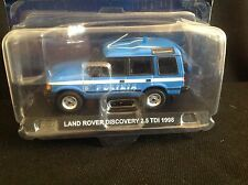 DEAGOSTINI LAND ROVER DISCOVERY ITALIAN POLICE  1.43 SCALE  NEW BOXED