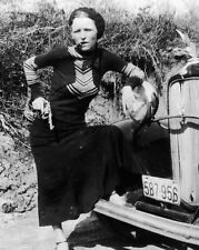 "New 8x10 Photo: Bonnie Parker, Infamous Gangster Outlaw of ""Bonnie and Clyde"""