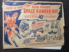 1952 Sylvania BUCK ROGERS Space Ranger Kit FN- Semi-Unpunched