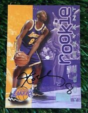 1996-97 SKY BOX KOBE BRYANT RC ON CARD AUTO LAKERS HOF SP RARE
