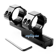 Metal 30mm Scope Ring 11mm Dovetail Rail Mount For Laser Sight Torch Rifle Hunt