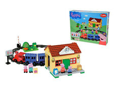 "Construction Set PlayBIG ""Train Station"" Peppa Pig 95 pcs. for children 1,5 y.+"
