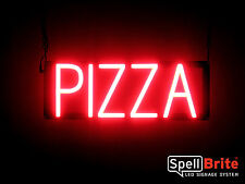 SpellBrite Ultra-Bright PIZZA Sign Neon-LED Sign (Neon look, LED performance)