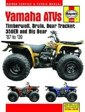 HAYNES SERVICE REPAIR MANUAL YAMAHA BIG BEAR 350 4WD 1987-99 & 350 2WD 1996-99