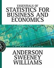 Essentials of Statistics for Business and Economics with Data Files by David...