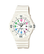 Casio Quartz Ladies White Dial White Strap Sports Watch LRW-200H-7BVDF