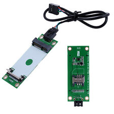 Mini PCI-E Express to USB Interface Wireless Card With SIM Adapter 90 Degree Hot