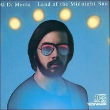 Al DiMeola-Land of the Midnight Sun CD, Good Condition