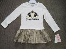 Juicy Couture Toddler Girls Dress - Size 4T - NWT