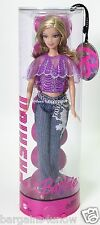 2005 FASHION FEVER BARBIE MODERN TRENDS COLLECTION SPARKLY PURPLE TOP JEANS NRFB