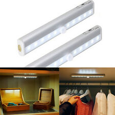 Wireless Under Cabinet Light Motion Sensor Kitchen Cupboard LED Drawer Lighting