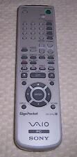 Sony Vaio PC Giga Pocket Remote Control RM-GP4U