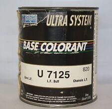 Sherwin Williams Ultra 7000 Paint Mixing Toner U7125 Lead Free Buff QT