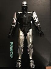 Hot Toys RoboCop MMS 202 D04 Diecast Body, Head, Hands, Stand 1/6 Set Loose
