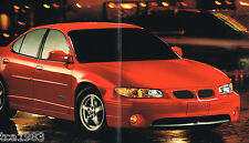 Big 2000 PONTIAC GRAND PRIX Brochure / Catalog with Color Chart: SE,GT,GTP,P