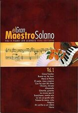 El Gran Maestro Solano Learn to Play Pop PIANO Guitar PVG Music Book Vol 1