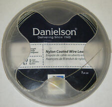 Danielson Steelon Nylon Coated Fishing Wire Leader SS Material  45lb 30' LDRWC45