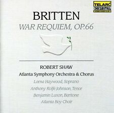 War Requiem - B. Britten (2004, CD NEUF) Haywood/