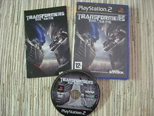 PLAYSTATION 2 PS2 TRANSFORMERS THE GAME