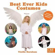 Best Ever Kids Costumes Book (C&B Crafts) halloween craft/ sewing NEW