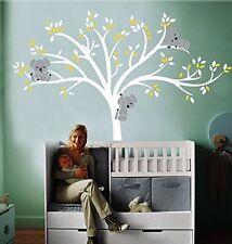 MAFENTTMLarge Koala Family Tree Wall Decals Baby Nursery Vinyl Wall Decor for