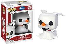 FIGURE ZERO JACK NIGHTMARE BEFORE CHRISTMAS DISNEY SKELLINGTON POP FUNKO CINEMA
