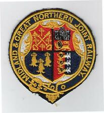 M&GN Railway Society Embroidered Sew On Cloth Crest