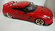 1:10 RC Nitro EXCRC Petrol Engine Red Nissan GTR On Road Car
