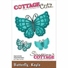 Kayla Butterfly, High Quality Steel Craft Cutting Die COTTAGE CUTZ - NEW, CC-100