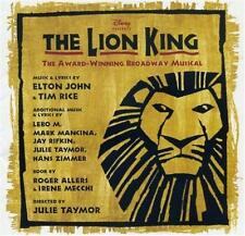 THE LION KING Broadway Musical Soundtrack CD