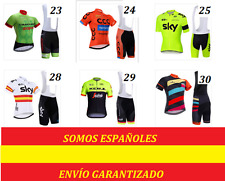 Maillot culote ciclismo, cycling set short más de 50 modelos Mtb, triatlon