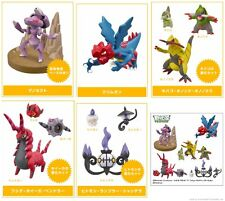 Tomy BW 05 1/40 Scale Real Pokemon Figure Zukan Gashapon complete set x5