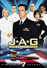 JAG ~ Complete 7th Seventh Season 7 Seven ~ BRAND NEW 5-DISC DVD SET
