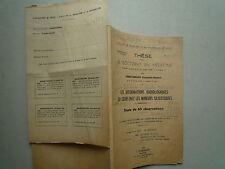 1950 LES DEFORMATIONS RADIOLOGIQUES DU COEUR LES MINEURS SILICOTIQUES EHRETSMANN