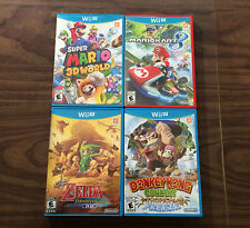 Mario Kart 8 + Wind Waker HD + Super Mario 3D World + DK Tropical Freeze (Wii U)