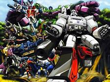 "TRANSFORMERS POSTER G1 Decepticon Group 27"" x 38"" - Super Rare"