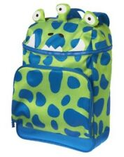 GYMBOREE GREEN 3 EYED MONSTER BACKPACK NWT