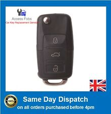 Remote Key Alarm Fob VW GOLF, POLO, PASSAT, BEETLE 3 button NEW & Best Quality