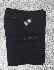New Men's Cargo Shorts Lee Dungarees Black 52